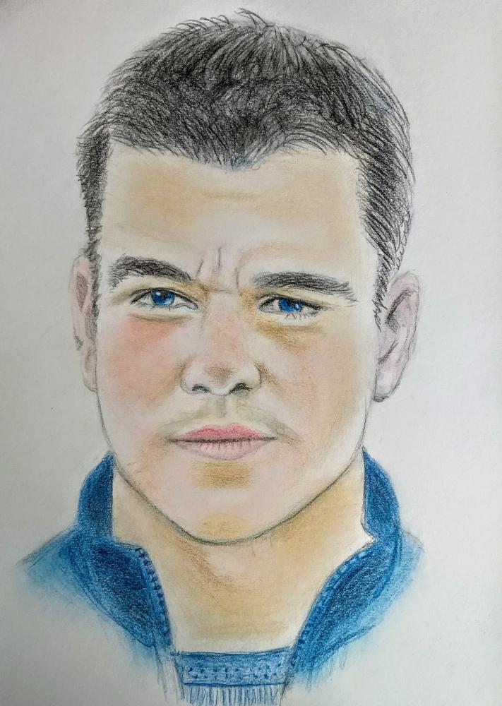 Matt Damon by paulb
